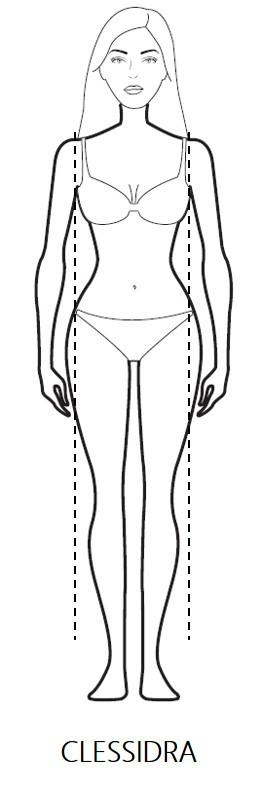 Body Shape: la forma a Clessidra