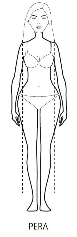 Body Shape: la forma a Pera